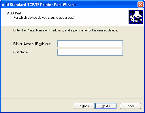port TCP/IP. 7.