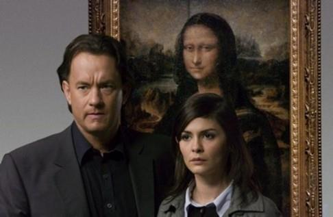 Langdon = Tom Hanks, Sophie Neveu = Audrey