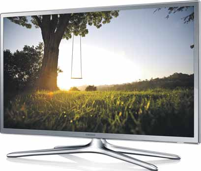 televizor Samsung ZDARMA 47 LED 840,- 11 999,- 12 999,- *** 125 200 Hz Ultra Smart TV Smart 3D LED