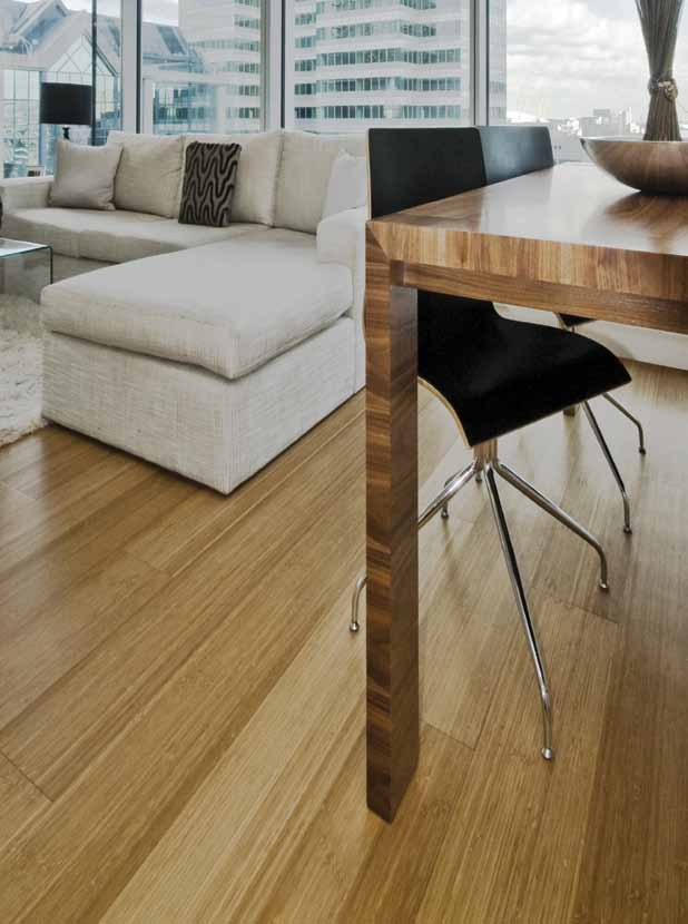 bambusové podlahy Real Balance bamboo flooring - real balance of price and quality Rossa Courtuise