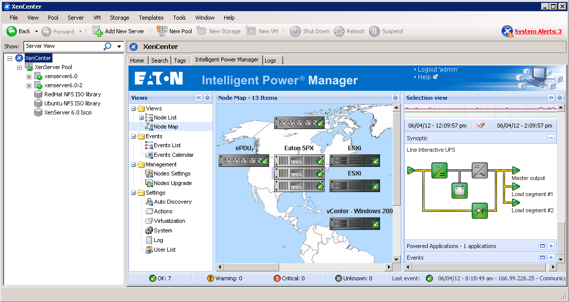 Intelligent Power Manager: plug-in