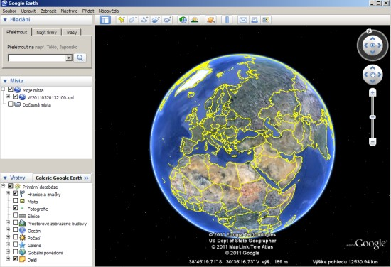 Software Google Earth 6.