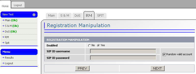 Registration and Manipulation Modul ORS
