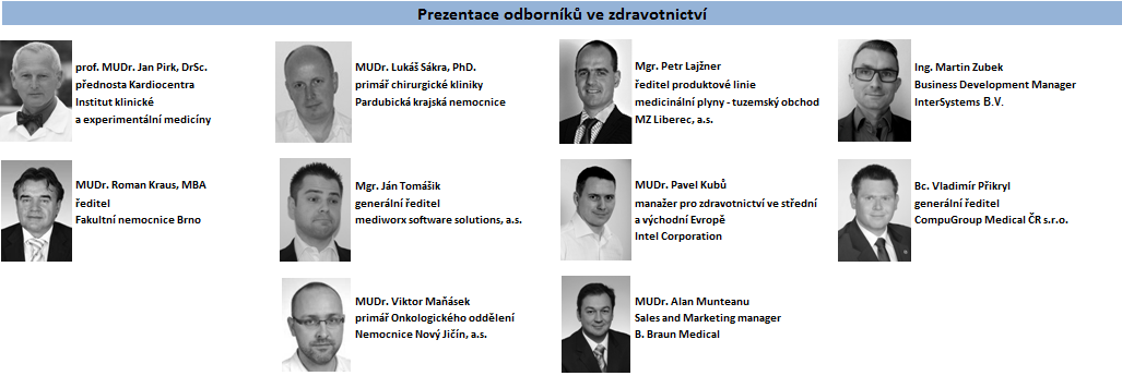 Organizace HealthCare Institute si Vás