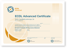 ECDL Advanced 1 Omluvte