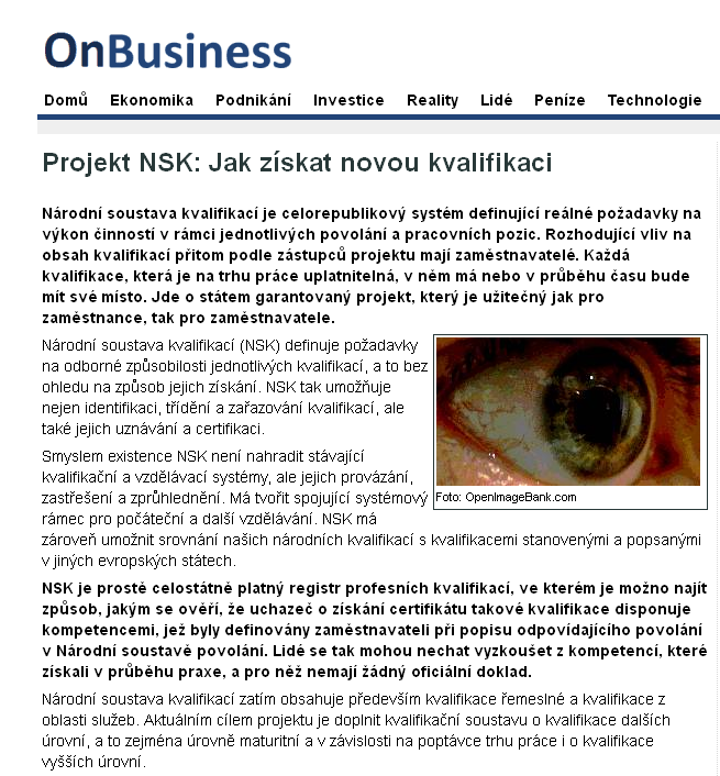 Onbusiness.cz http://www.onbusiness.