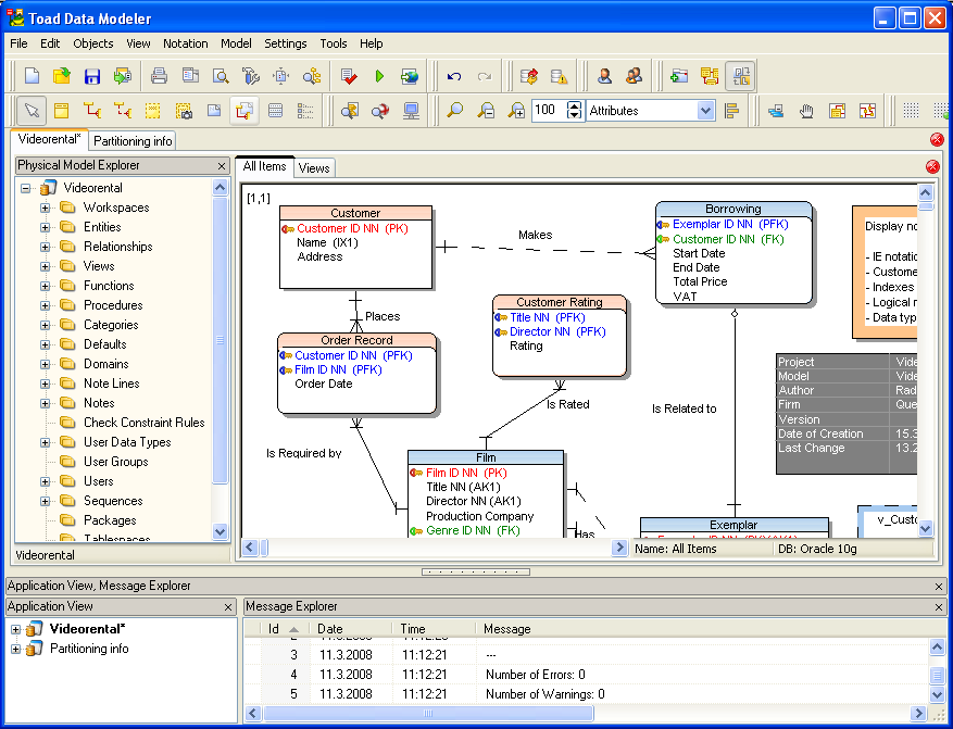 Toad Data Modeler 12.