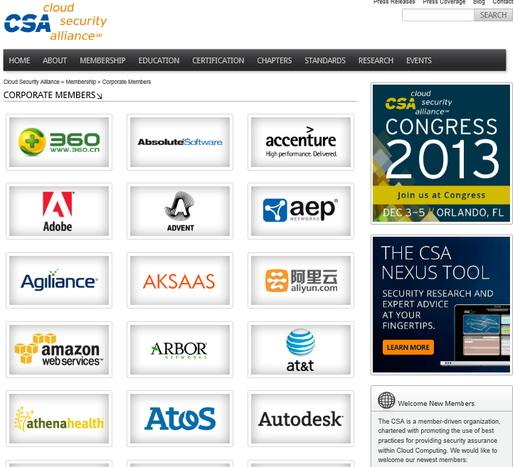 CSA - www.cloudsecurityalliance.