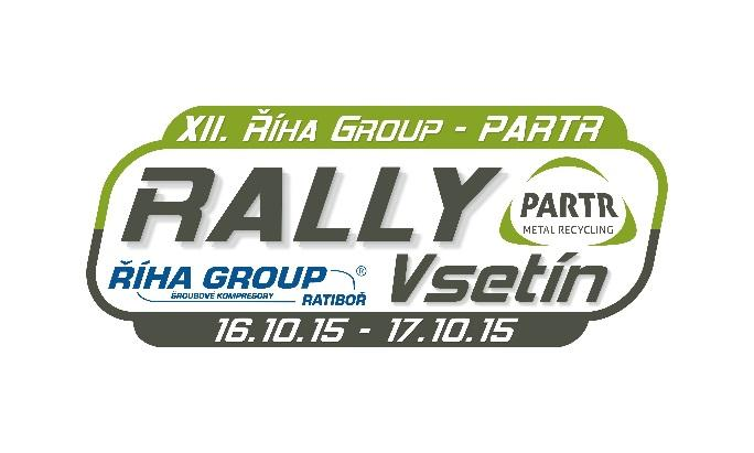 XII. ŘÍHA GROUP - PARTR RALLY VSETÍN 16. - 17.
