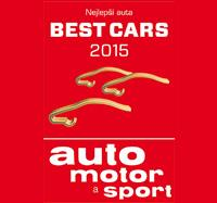 Car of the Year 2015 časopis auto motor a sport BEST CARS 2015