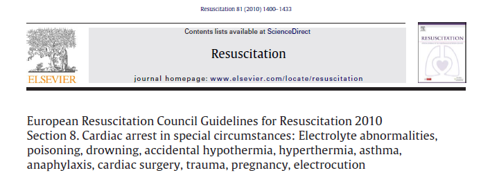 In the pre-hospital setting, resuscitation should be withheld only if the cause of a cardiac arrest is clearly attributable to a lethal injury, fatal illness, prolonged