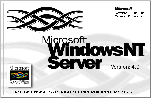 Obrázek č. 2: Windows NT 3.5 Zdroj: http://lead-central.blogspot.cz/2010/06/microsoft-windows-history-at-glance_19.html Windows NT 4.