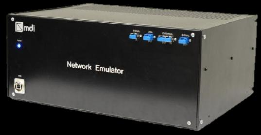 one Optical Network Emulator Emulace CD: ± 700 ps/nm