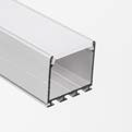 ARCHITEKTONICKÉ LED PROFILY - PŘISAZENÉ PROFILY ARCHITECTURAL PROFILES FOR LED FIXTURES - SURFACE MOUNTED PROFILES LIPOD REF. B5554 GIZA REF. B5556 GIP REF.