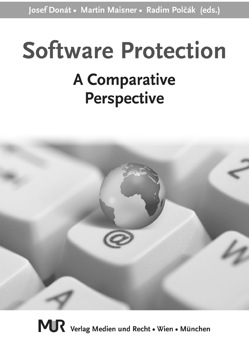 SOFTWARE PROTECTION A Comparative Perspective Josef Donát - Martin Maisner - Radim Polčák (editors) The aim of the editors of the book was to provide academics and practitioners in the field of ICT