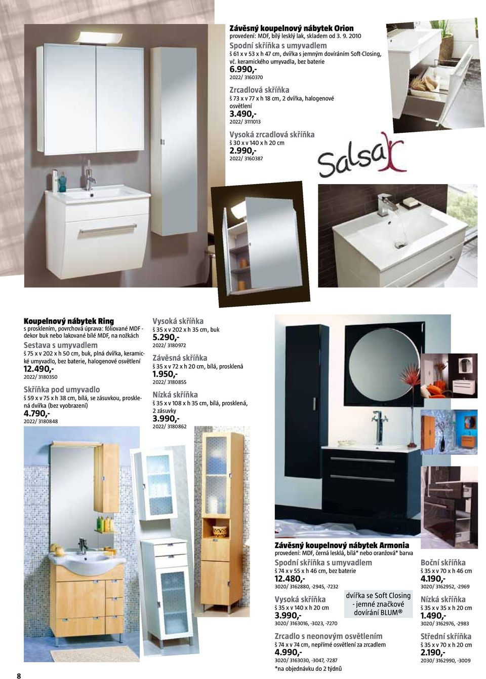 katalog sanita a sv t koupelen pdf. Black Bedroom Furniture Sets. Home Design Ideas