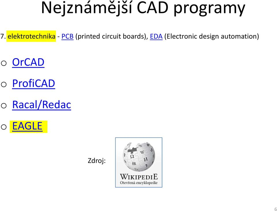 boards), EDA(Electronic design