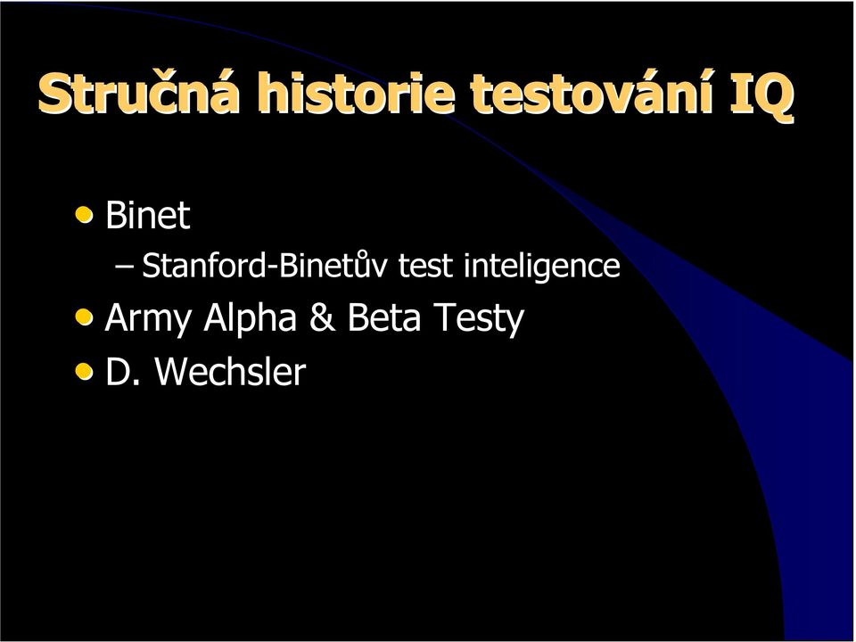 Binetův test inteligence