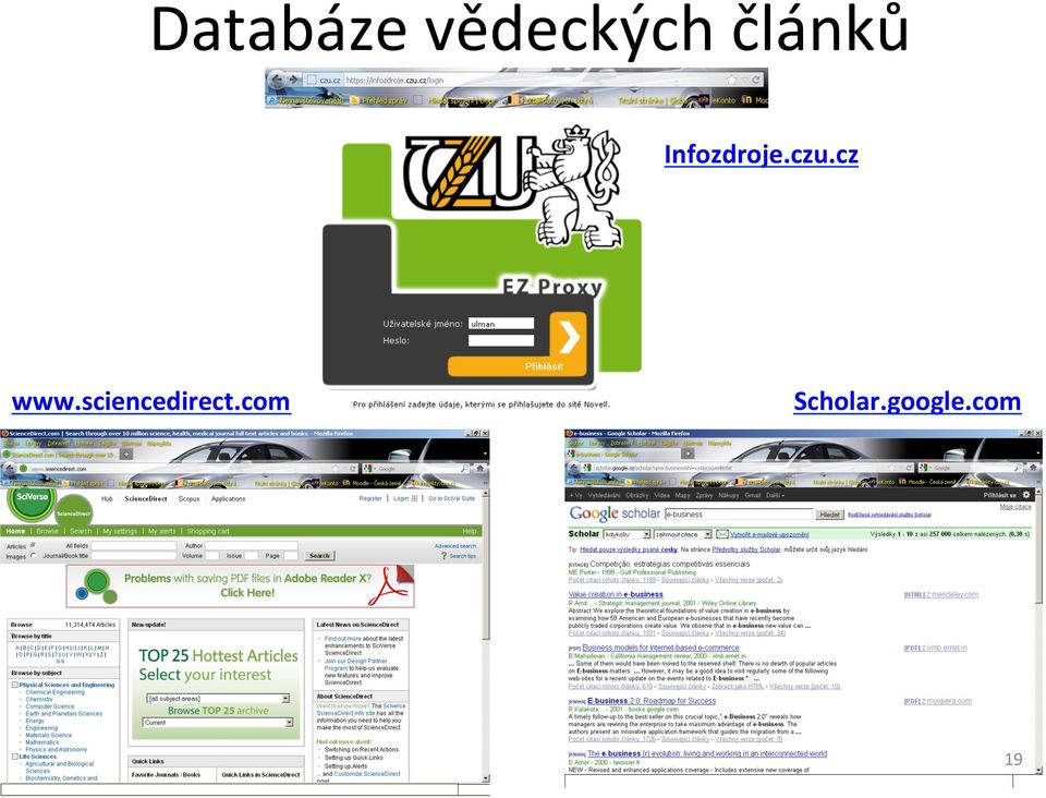 cz www.sciencedirect.