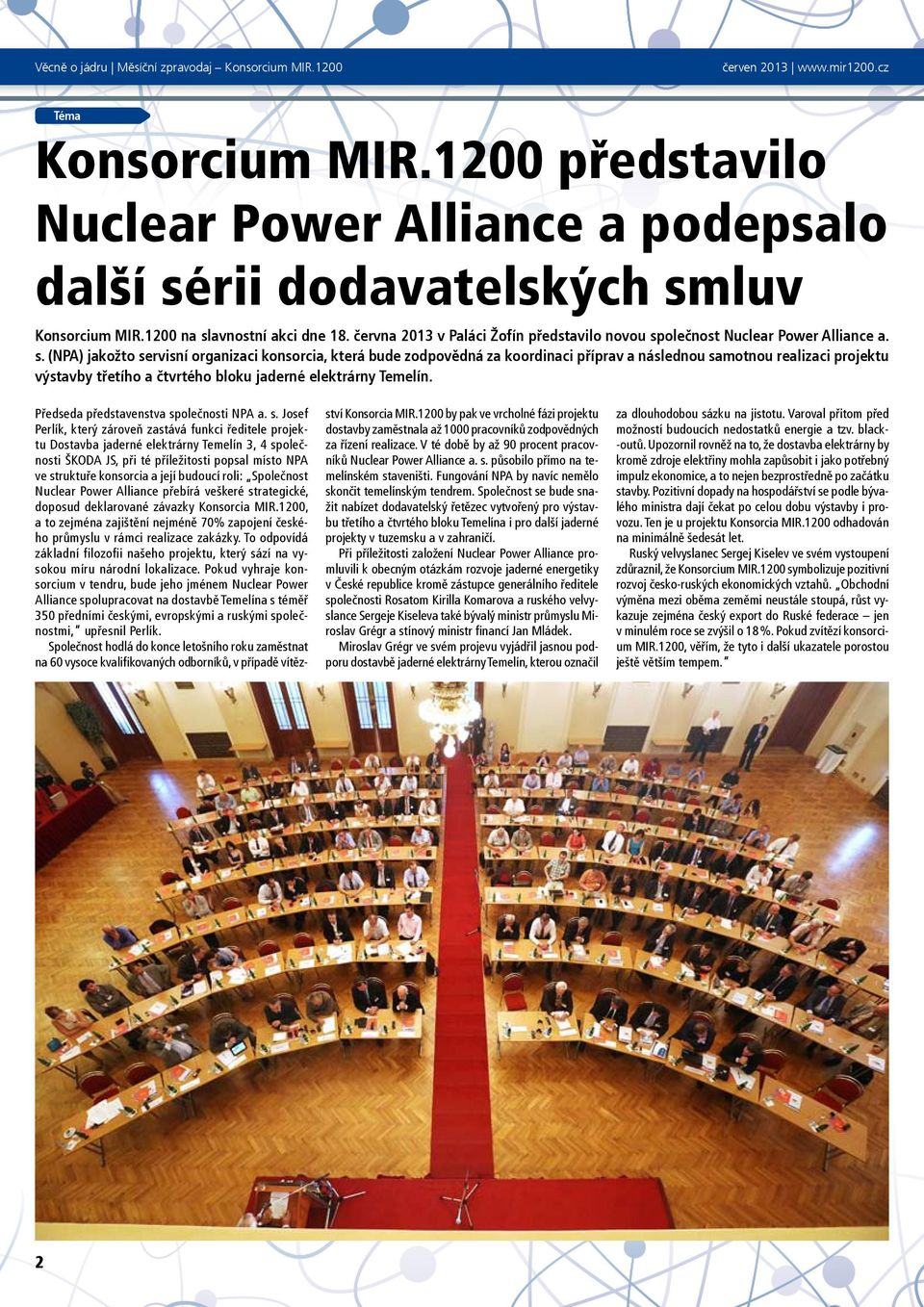 olečnost Nuclear Power Alliance a. s.