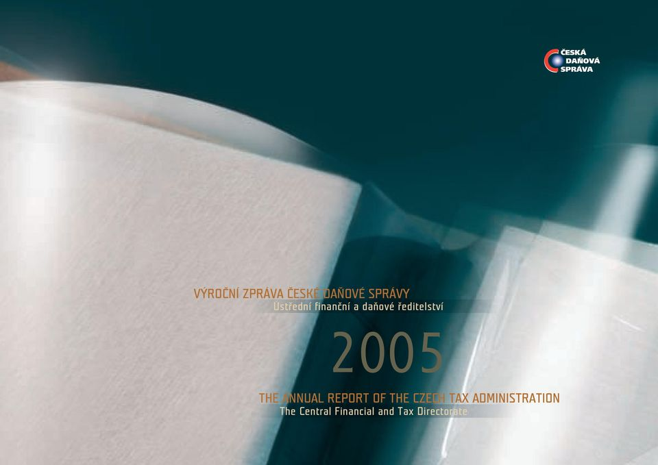 THE ANNUAL REPORT OF THE CZECH TAX