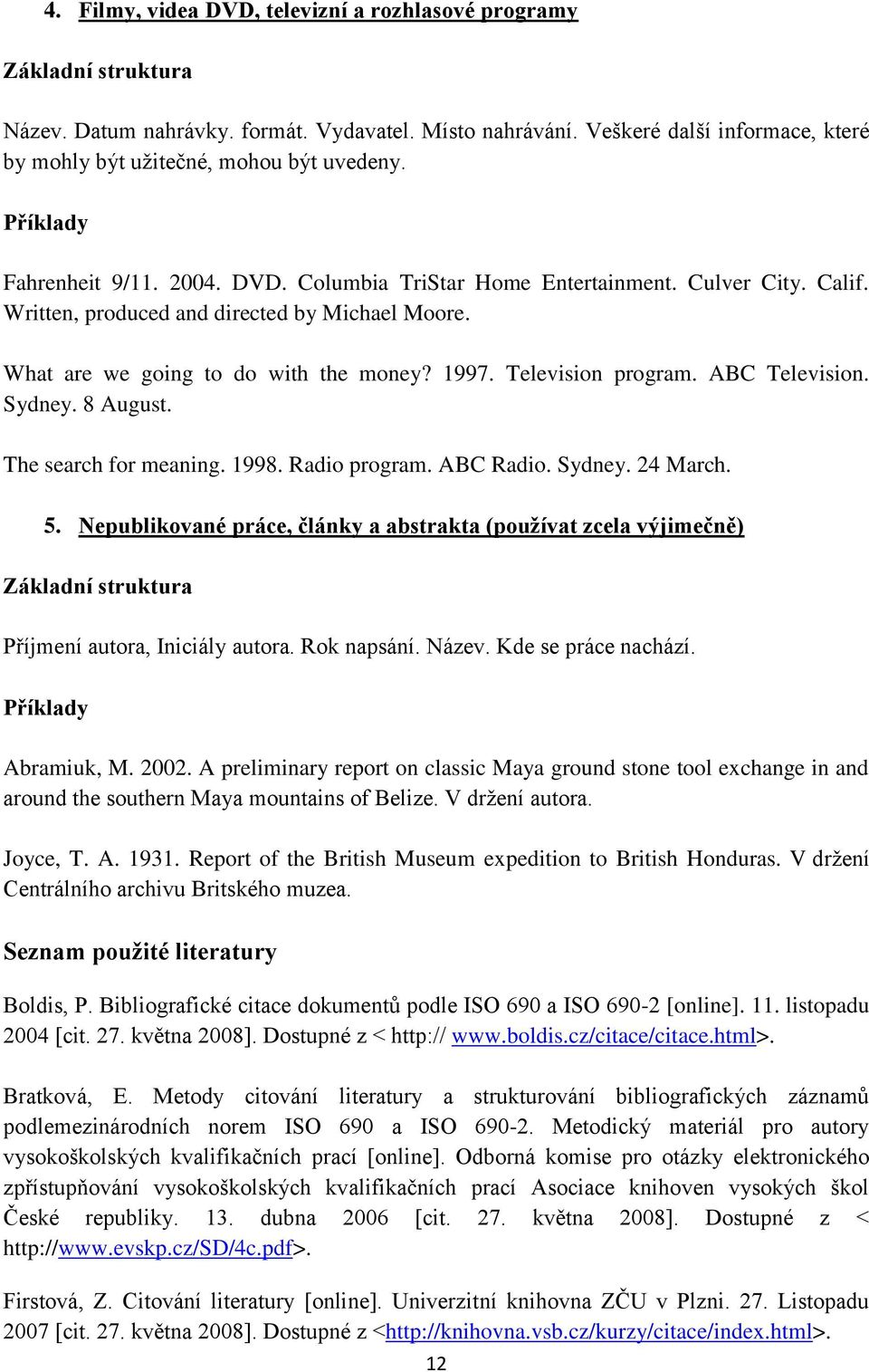 ABC Television. Sydney. 8 August. The search for meaning. 1998. Radio program. ABC Radio. Sydney. 24 March. 5.
