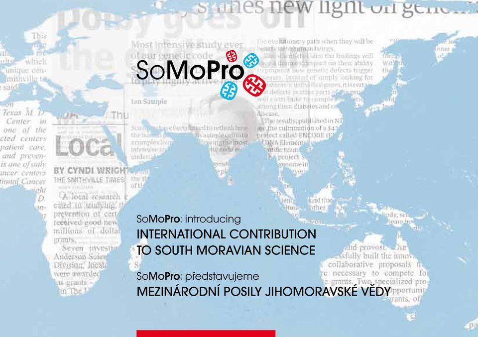 South Moravian science SoMoPro: