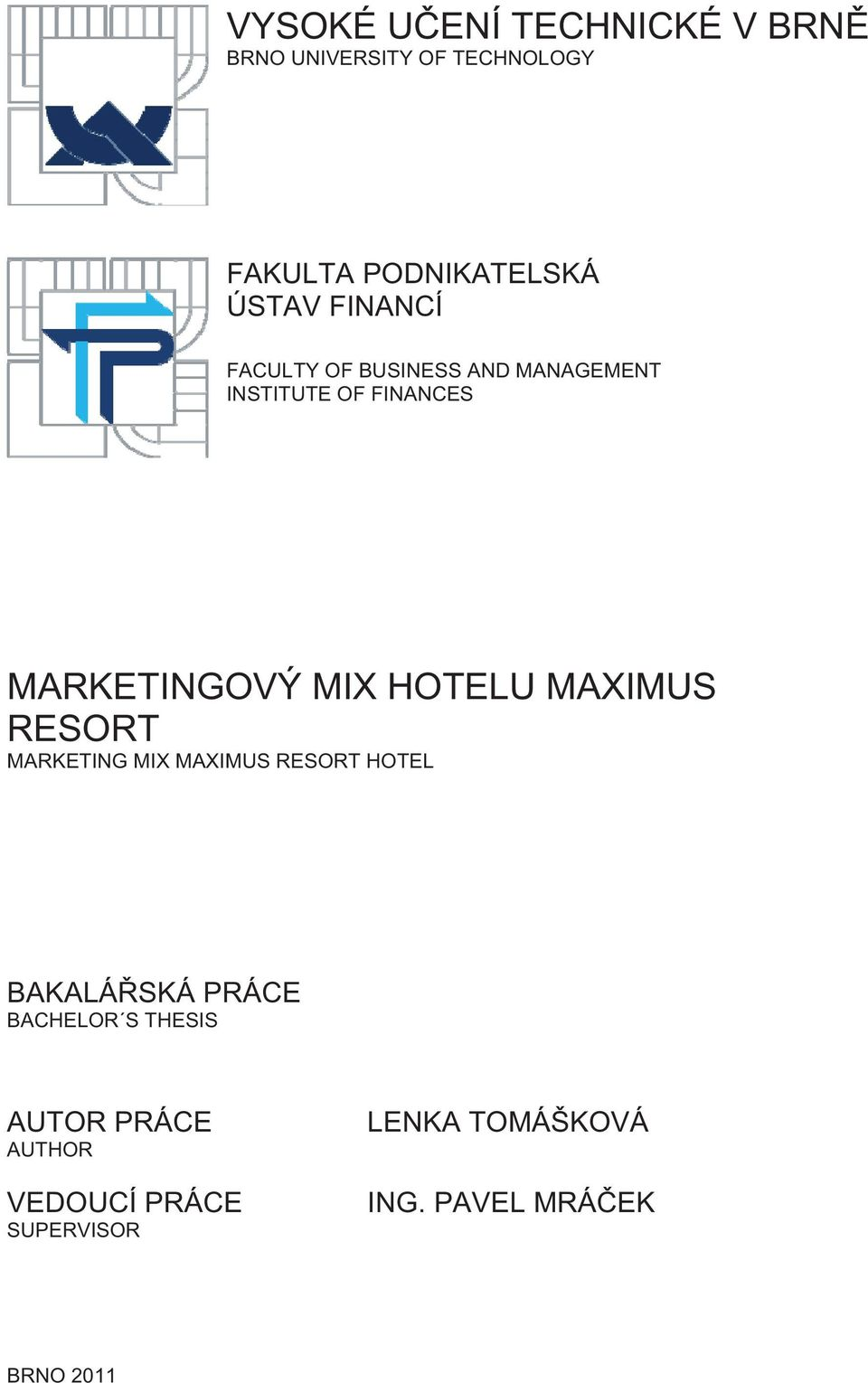 Thesis on marketing mix strategies