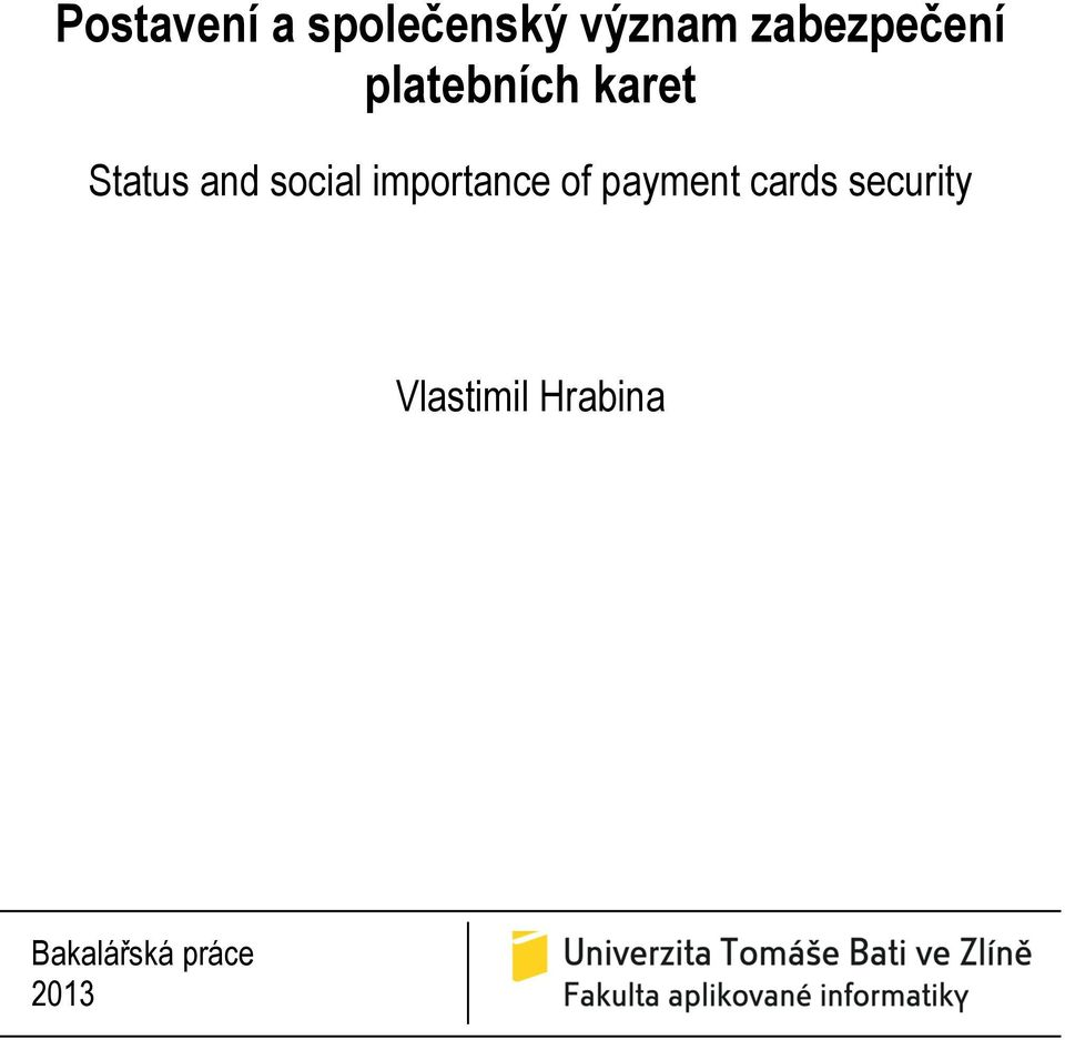 and social importance of payment cards