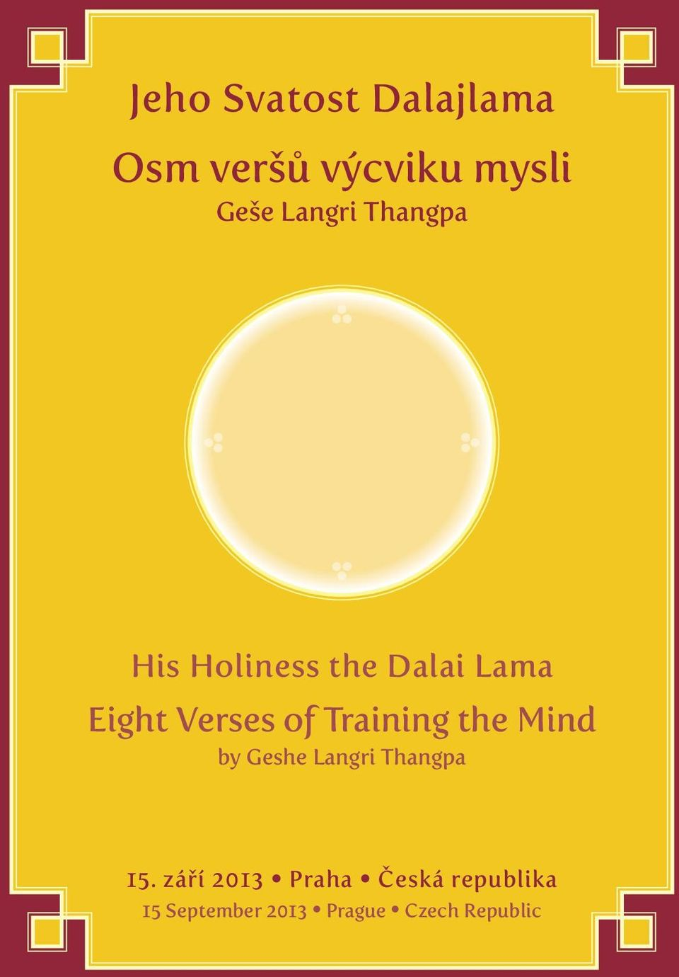 of Training the Mind by Geshe Langri Thangpa 15.