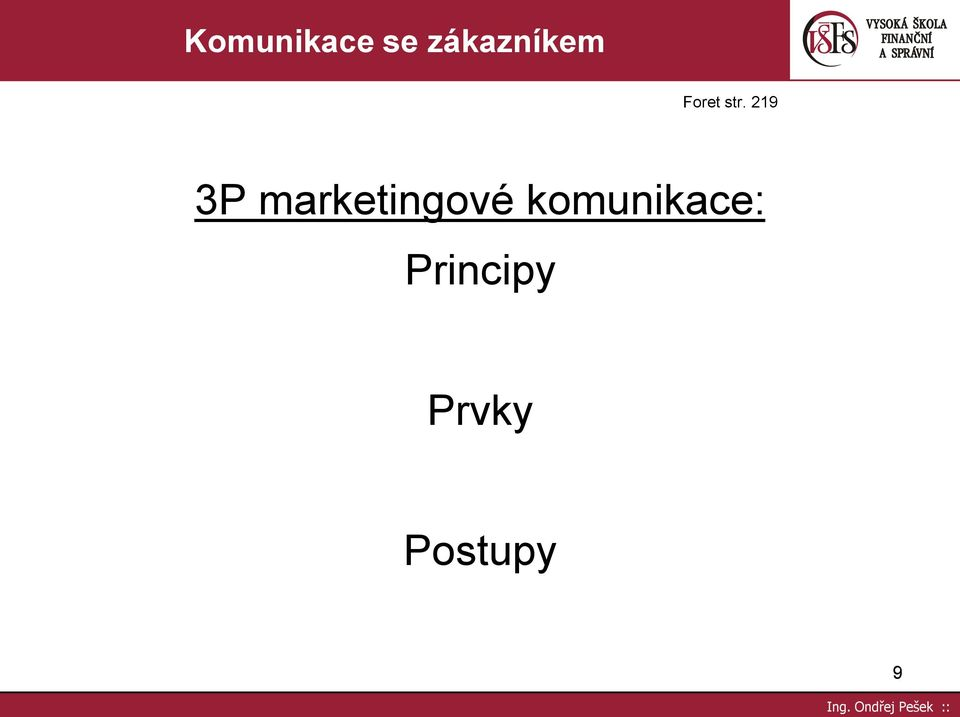 219 3P marketingové
