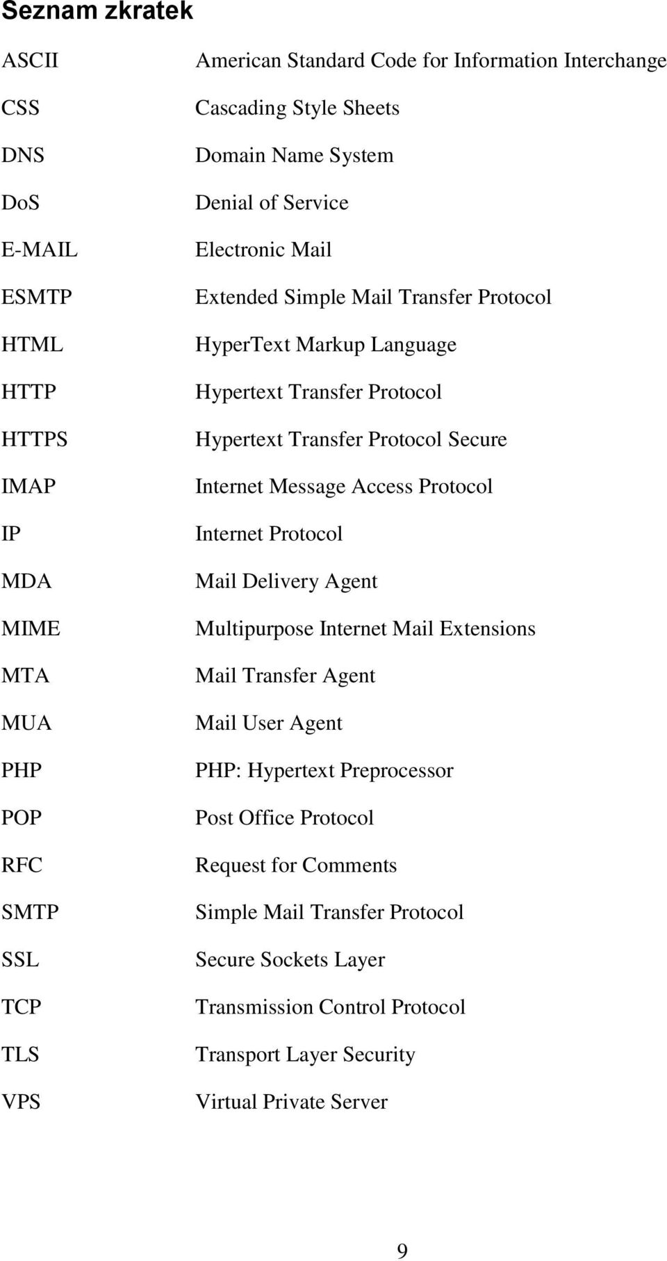 Transfer Protocol Secure Internet Message Access Protocol Internet Protocol Mail Delivery Agent Multipurpose Internet Mail Extensions Mail Transfer Agent Mail User Agent PHP: