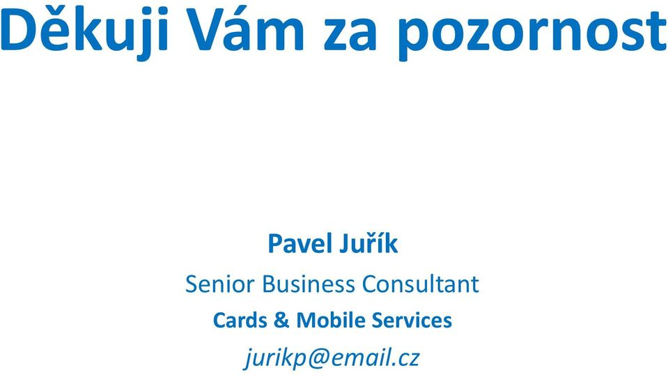 Business Consultant Cards