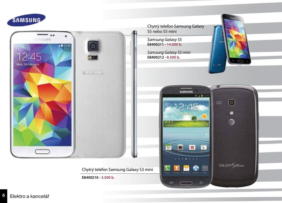 Samsung Galaxy S5 mini E8400212-8.500 b.