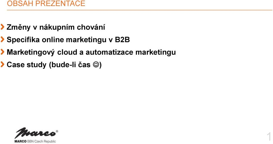 v B2B Marketingový cloud a
