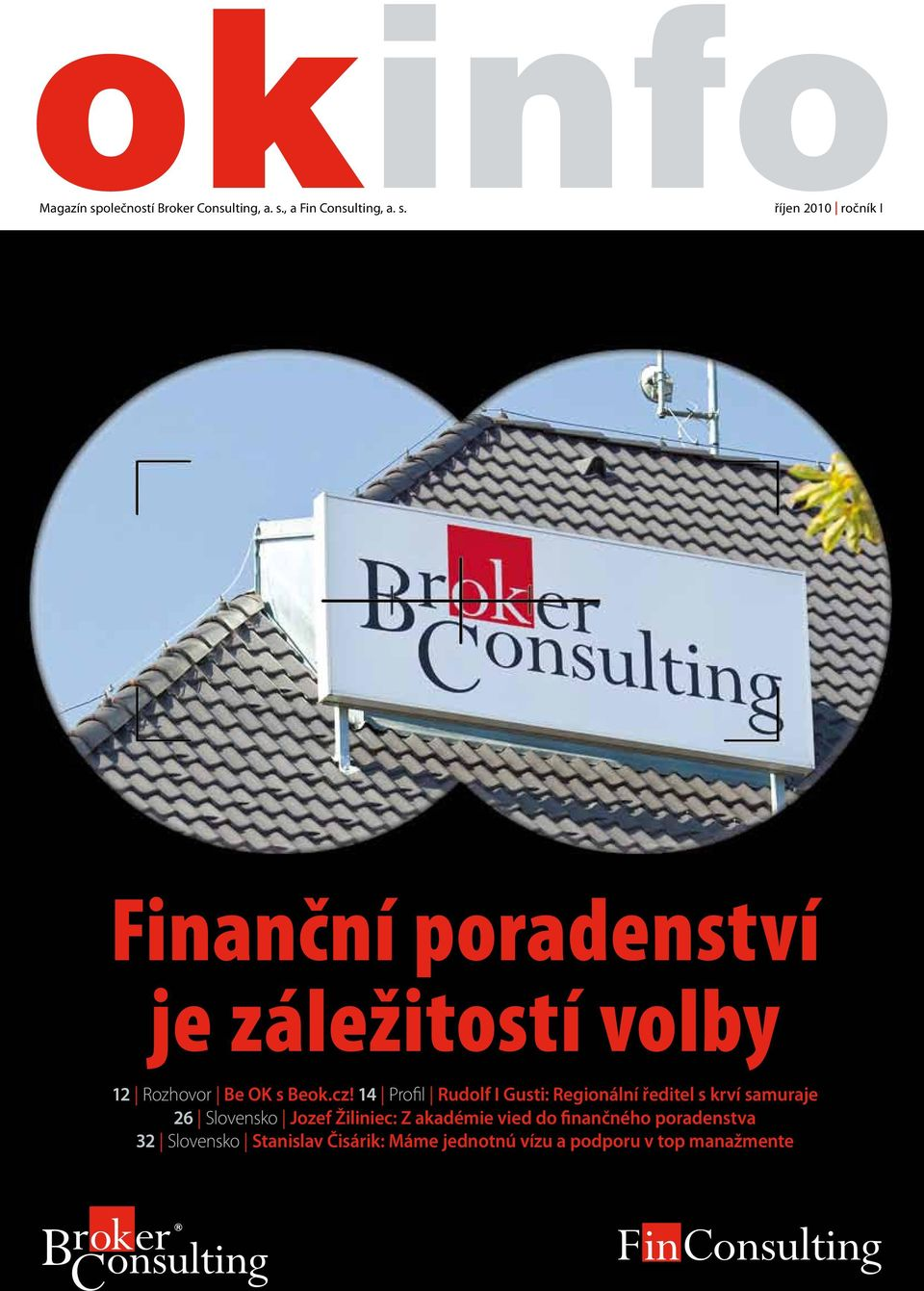 , a Fin Consulting, a. s.