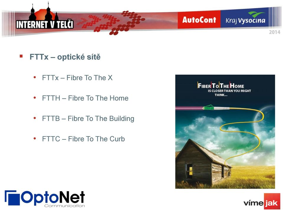 To The Home FTTB Fibre To