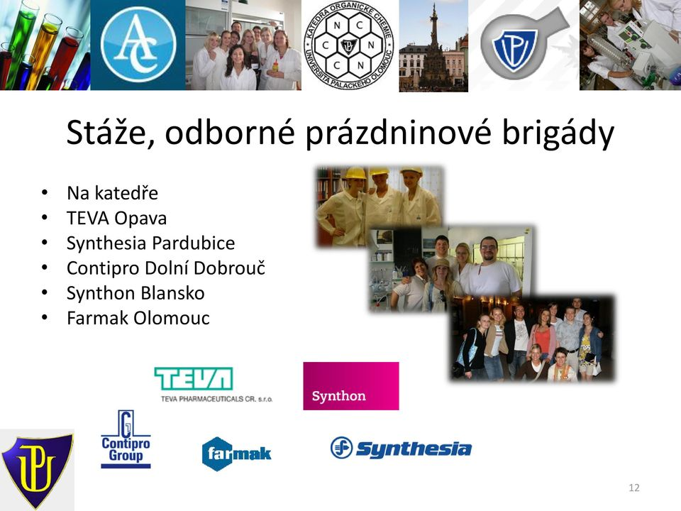 Synthesia Pardubice Contipro