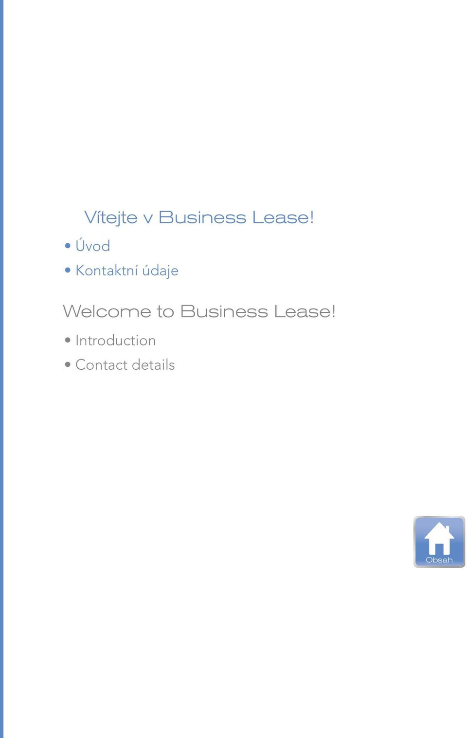 Welcome to Business Lease!