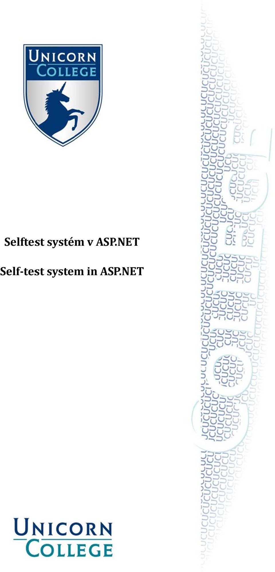 NET Self test