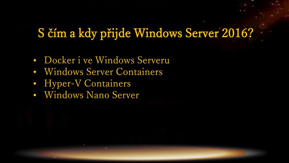 Docker i ve Windows Serveru