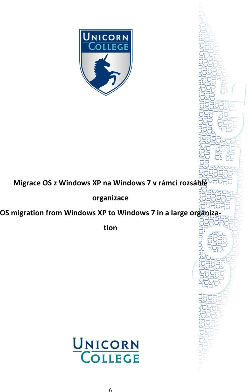 organizace OS migration from