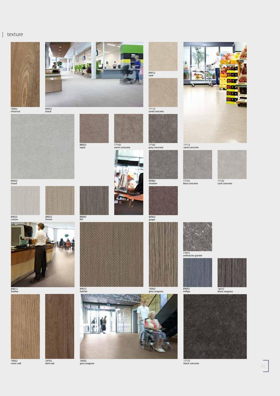 89032 linnen 89082 felt 89952 grape 17072 anthracite granite 89012 leather 89012 leather 18562 grey seagrass