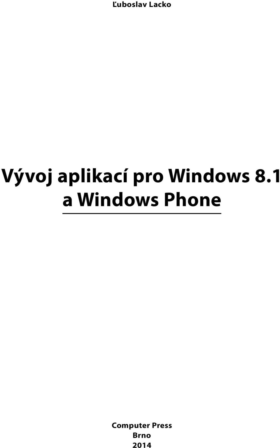 8.1 a Windows Phone