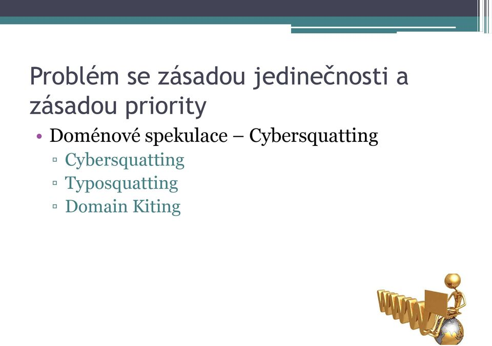 spekulace Cybersquatting