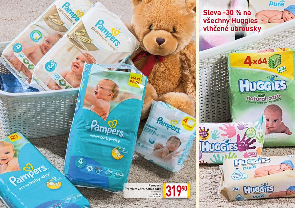 Pampers Premium Care,