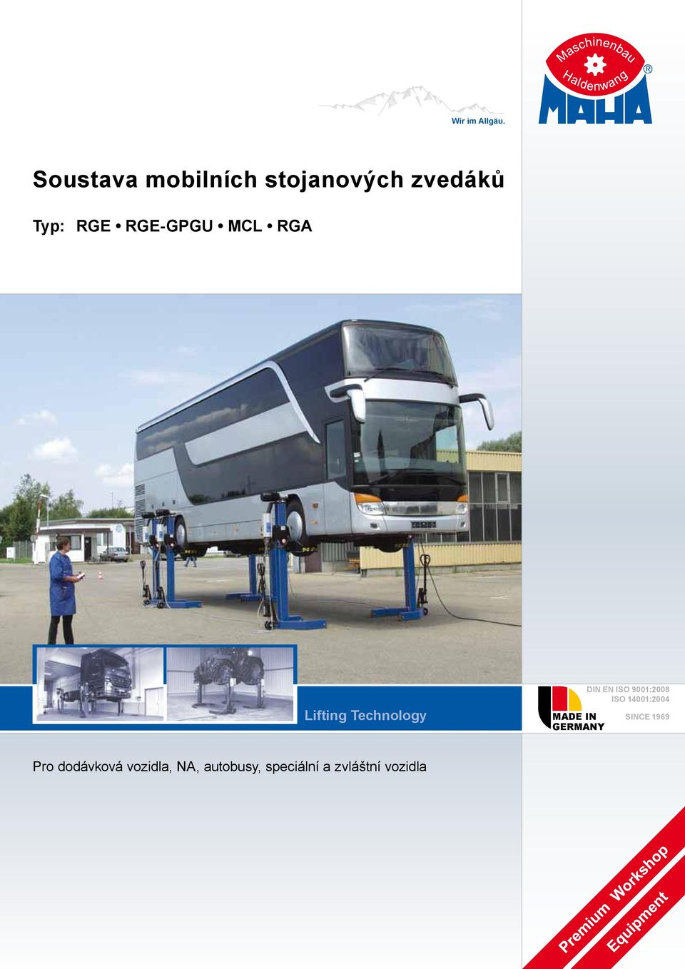 MCL RGA Lifting Technology MADE IN GERMANY DIN EN ISO