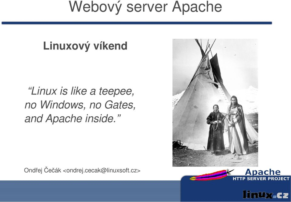 Windows, no Gates, and Apache