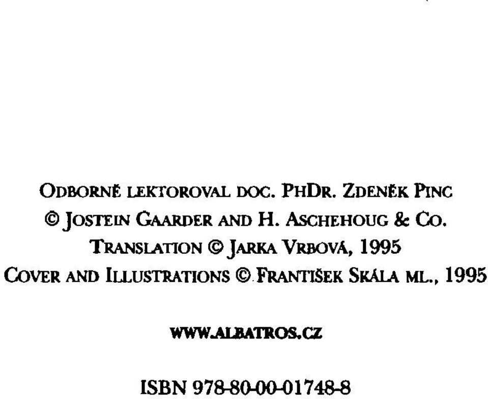 TRANSlATION JARKA VRBOVA, 1995 CoVER AND Iu.