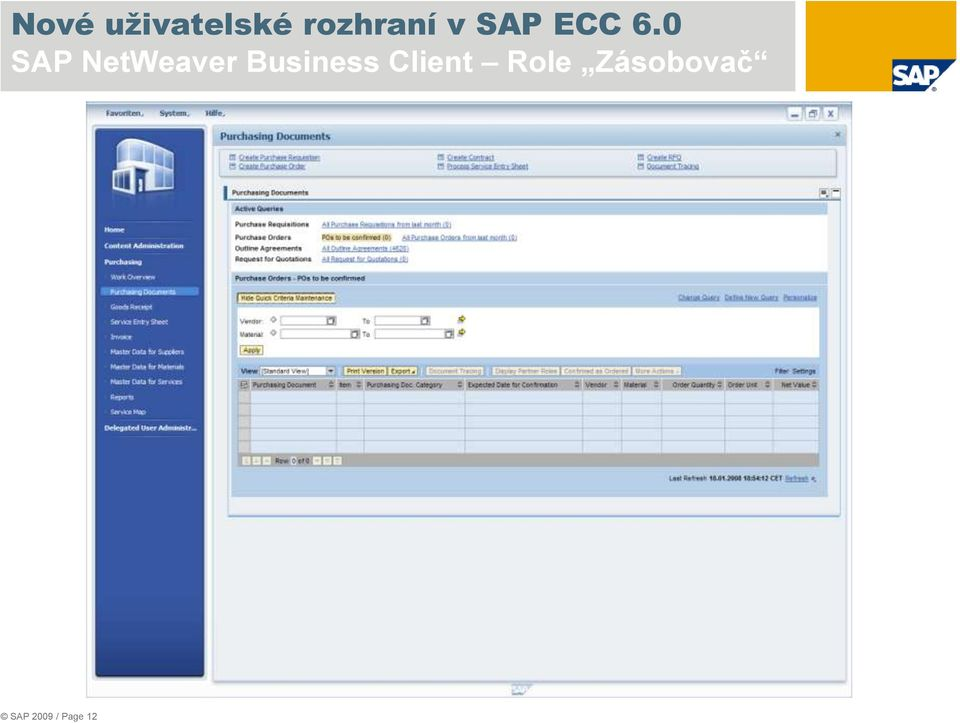 0 SAP NetWeaver Business